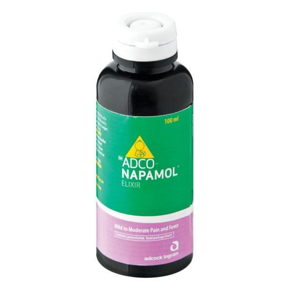 Adco-Napamol Syrup 100ml top