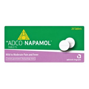 Adco-Napamol Tablets 20s