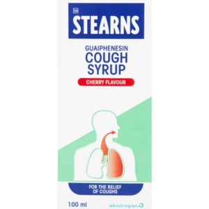 STEARNS Cough Syrup CHERRY 100ml