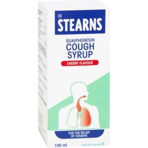 STEARNS Cough Syrup CHERRY 100ml side