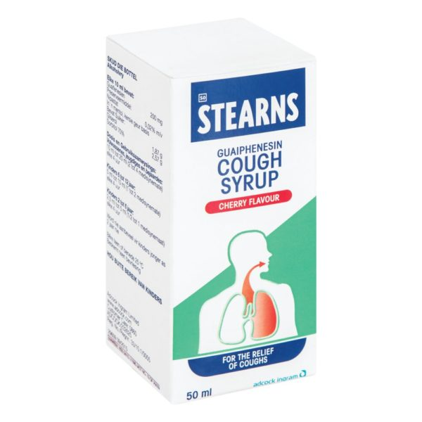 STEARNS Cough Syrup CHERRY 50ml