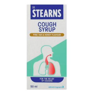 STEARNS Cough Syrup PINE HONEY 50ml