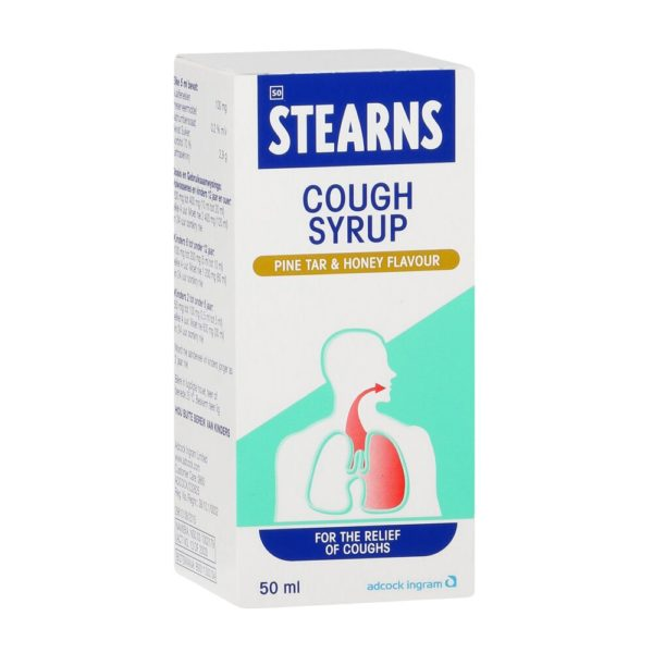 STEARNS Cough Syrup PINE HONEY 50ml perspective