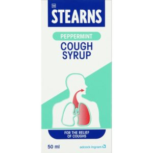 STEARNS Cough Syrup PEPPERMINT 50ml