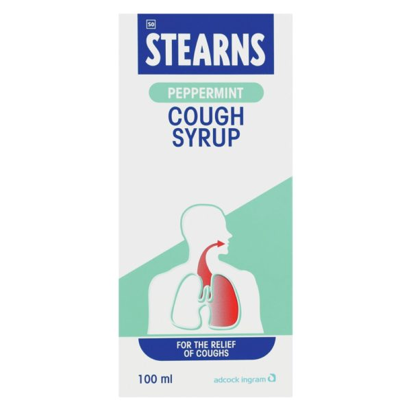 STEARNS Cough Syrup PEPPERMINT 100ml