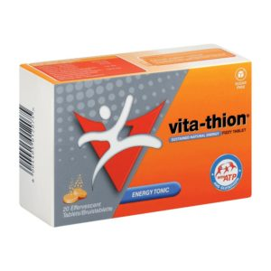 Vita Thion Fizzy Tablets 20's side