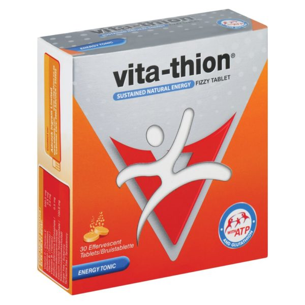 Vita Thion Fizzy Tablets 30's side