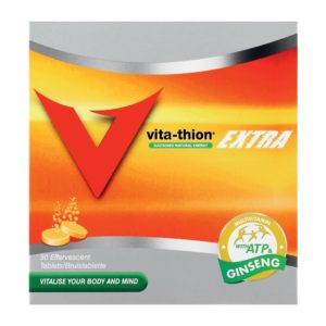 Vita Thion Effervescent Tablets Extra 30's