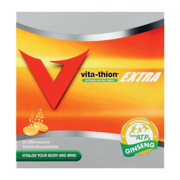 Vita Thion Effervescent Tablets Extra 30's
