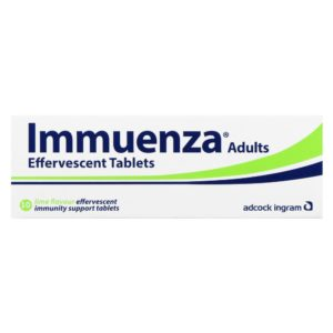 Immuenza LIME Effervescent - Adult Tabs