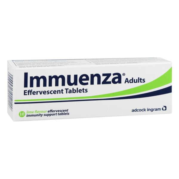 Immuenza LIME Effervescent - Adult Tabs p