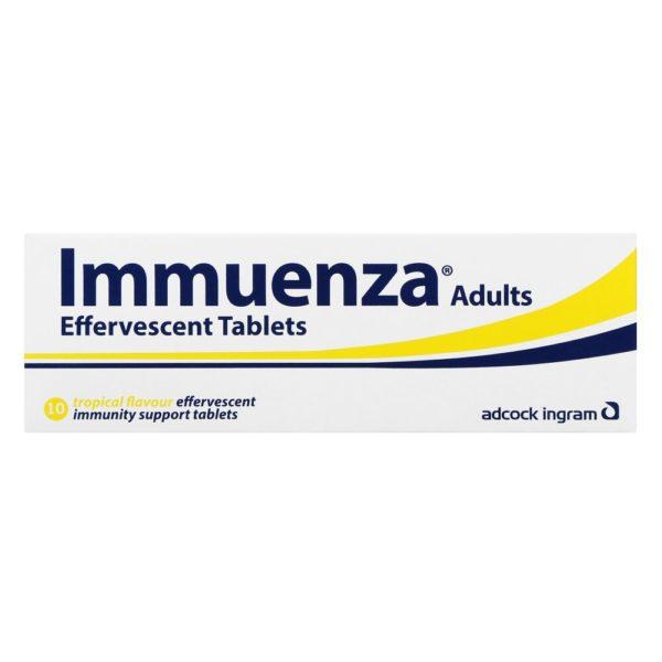 Immuenza TROPICAL Effervescent - Adult Tabs