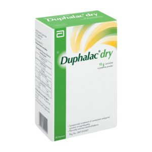 Duphalac Dry Powder Sachet 30 x 10g side