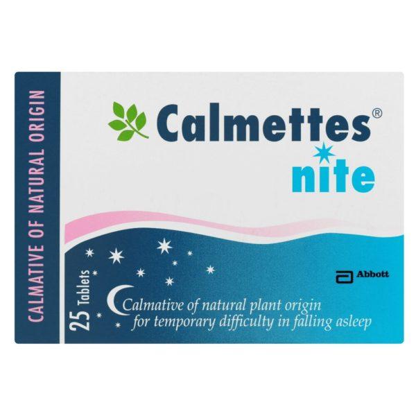 Calmettes Nite Tabs 25's