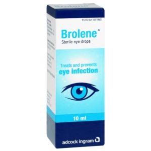 Brolene eye drops 10ml perspective