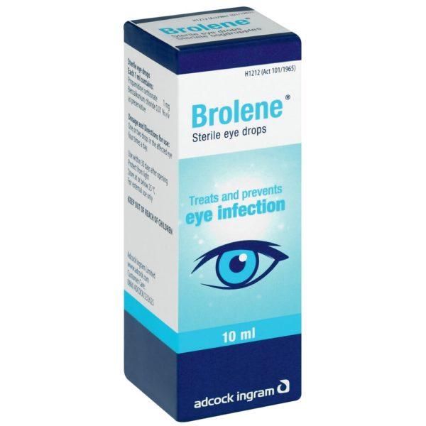 Brolene eye drops 10ml side