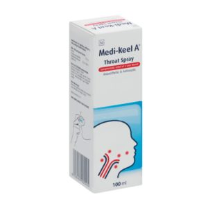Medi-Keel Throat Spray 100ml side