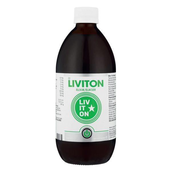 Liviton Elixir 500ml bottle