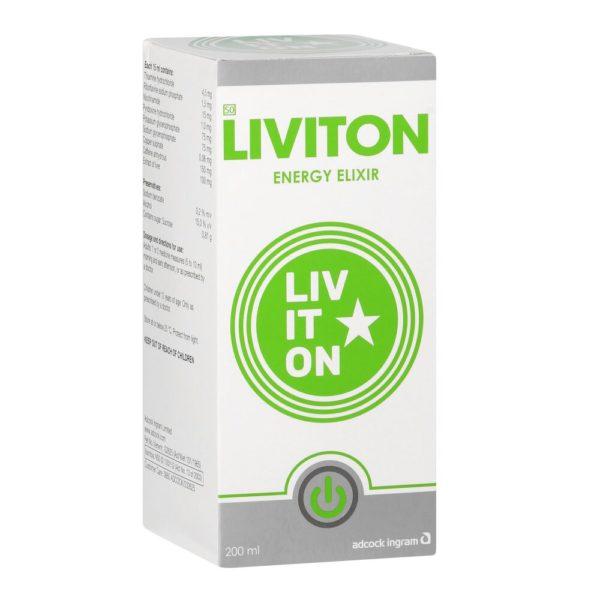 Liviton Elixir 200ml perspective